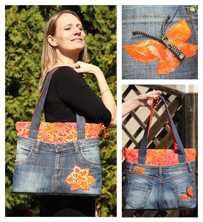 narancsvirág táska fotó